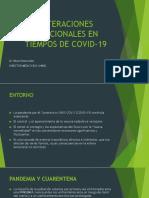 ALTERACIONES EMOCIONALES EN TIEMPOS DE COVID-19