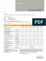 Data Sheet Overview Sylodamp  DE EN