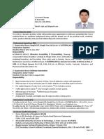 AG Sajin Resume