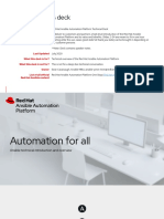 MBU - Red Hat Ansible Automation Platform Technical Deck
