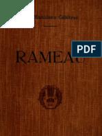 LA LAURENCIE, Lionel de • RAMEAU. Biographie critique. H. Laurens Éditeur, Paris [1908] (facsimile)