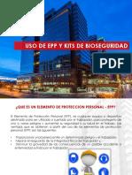 5. PRESENTACIÓN USO DE EPPS Y KITS DE BIOSEGURIDAD (3)