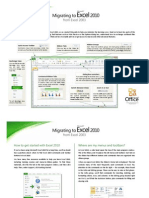 Excel 2010 guide