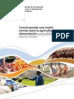 Construyendo una visión conjunta para agricultura y alimentación sostenibles(1)