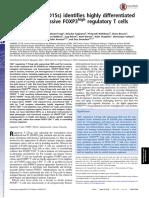 CD15s identifies highly  regulatory most suppressive CD4+ regulatory T cells.pdf