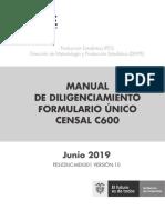 Manual Diligenciamiento C600