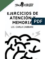 Ejercicios de atencion y memoria