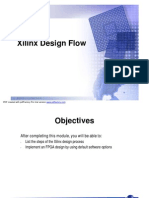 Ch3 3.1 03xilinx Design Flow ISE 2003