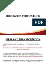 LIQUIDATION PROCESS FLOW