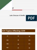 ICH-GCP Guidelines in CDM