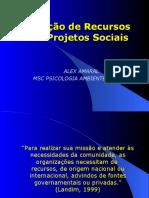 CAPTAÇÃO DE RECURSOS PROJETOS SOCIAIS.ppt