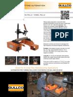 KAMEL Rolls - Pipe Turning Rolls