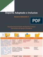 Clase 1 Presentacón Dpte Adaptado e Inclusivo clase 1