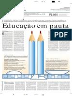 Educação em pauta