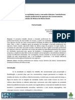 Um mesmo currículo para realidades locais e mercados distintos - interferências do fator região na inserção profissional de egressos dos Conservatórios Estaduais de Música de Minas Gerais