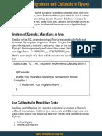 Flyway-JavaBasedMigrationsAndCallbacks