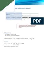 Formato Optimización de Funciones