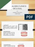ANALISIS CLINICO OCLUSAL