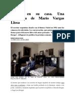 Borges entrevistado por Vargas Llosa