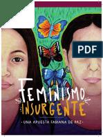 Cartilla Feminismo Insurgente Impresion