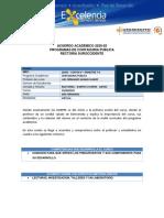 ACUERDO PEDAGO-22682 – COSTO II.