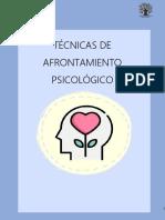 TÉCNICAS DE AFRONTAMIENTO PSICOLÓGICO