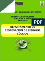 CAPACITACIÓN  - Segregación de residuos sólidos