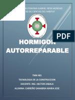 HORMIGON AUTORREPARABLE