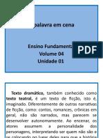 Unidades 1 e 2 - Apostila Vol. 4 Do E.F
