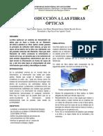INTRODUCCIÓN A LAS FIBRAS ÓPTICAS