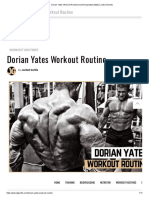 Dorian Yates' Workout Routinee & Diet (Updated 2020) _ Jacked Gorilla