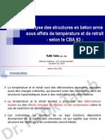 Calcul a La Temperature Et Au Retrait Selon CBA93_R.taleb (v1.2018, V2.2019)