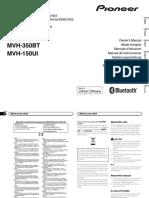 инструкция Pioneer MVH-150UI