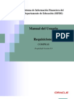 Manual de Requisiciones Compras (Sifde)