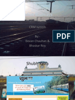 CRMi INdian Railways