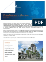 Doing Business Guide Mauritius 2010 FINAL