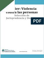DOSSIER-VIOLENCIA CONTRA LAS PERSONAS