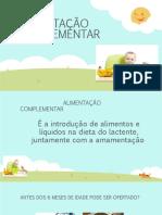 COMPLEMENTAR ALIMENTAÇÃO SLIDE