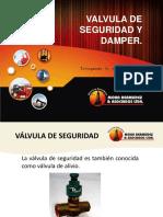 9. Válvula de seguridad y Damper