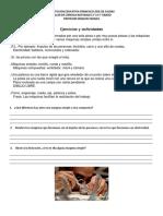 TALLER DE CIENCIAS NATURALES 2° L4 5° GRADO