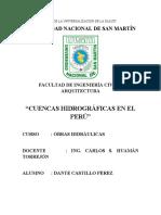 Cuencas Hidrográficas en el Perú (Monografía)