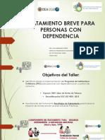 TRATAMIENTO BREVE PARA PERSONAS CON DEPENDENCIA - LYDIA BARRAGAN TORRES