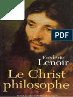 Lenoir - Le christ philosophe