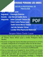 EXPOSICION DE JACQUES LACAN