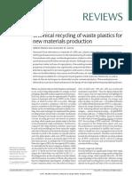 ChemicalRecyclingofwasteplasticsfornewmaterialsproduction