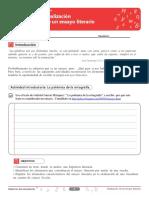 REDACCIÓN ENSAYO LITERARIO- guía 3