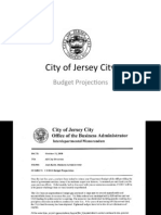 Jack Kelly Presentation on Jersey City's Budget