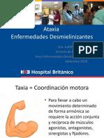 Ataxia - Enfermedades desmielinizantes.pptx