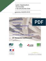 [AQCEN] - EC5 GT7 Règles et recommandations particulières applicables aux structures en charpentes traditionnelles