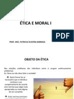 Ética e Moral I